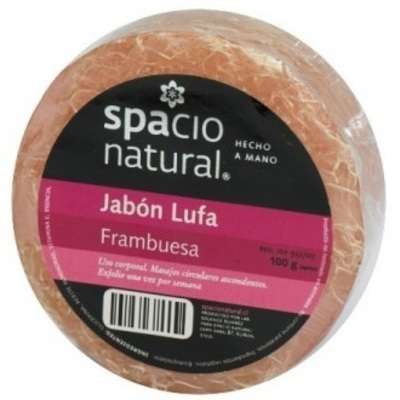 Jabón Lufa Frambuesa Spacio Natural