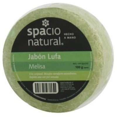 Jabón Lufa Melisa Spacio Natural