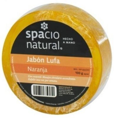 Jabón Lufa Naranja Spacio Natural