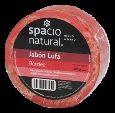 Jabón Lufa Berries Spacio Natural
