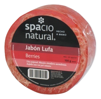 Jabón Lufa Berries Spacio Natural