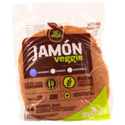 Jamón Vegano Ahumado Vegusta