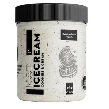 Helado Cookies & Cream Not Ice Cream