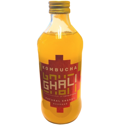 Kombucha Guaraná 500 ml Ghali