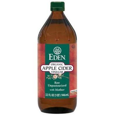 Vinagre de Manzana Orgánico Eden 473 ml