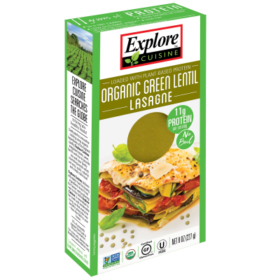 Lasagne de Lenteja Verde Explore Cuisine