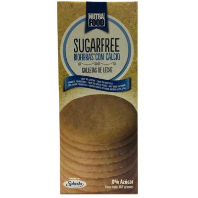 Galletas Sin Azúcar de Leche Nutrafood