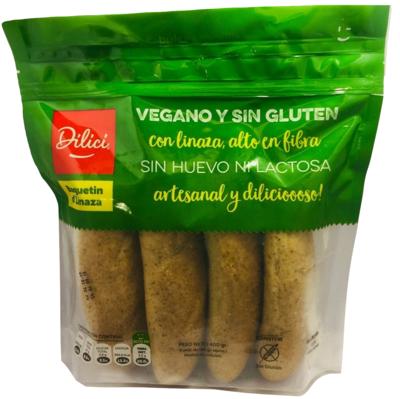 Pan Sin Gluten Linaza Dilici