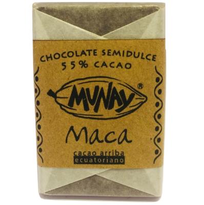 Chocolate 55% Cacao Maca Munay