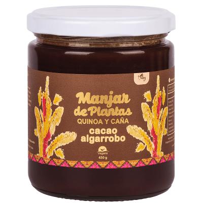 Manjar de Plantas Quinoa y Caña. Cacao Nitay