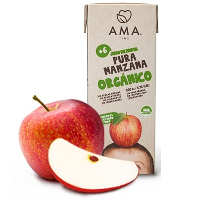 Jugo Ama Caja 200 cc Manzana