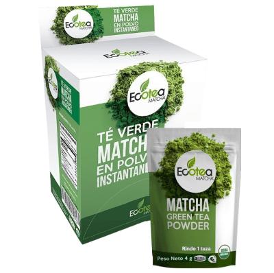 Té Verde Matcha Sobre 1 taza. Ecotea