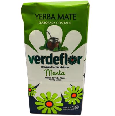 Yerba Mate Menta Verdeflor