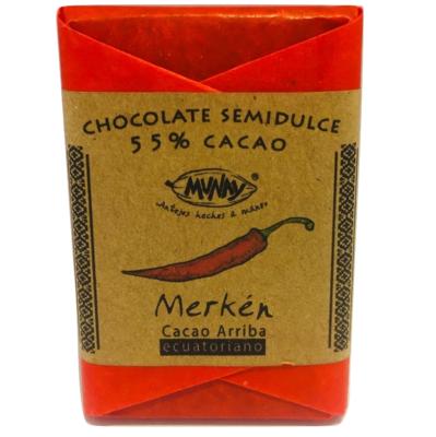 Chocolate 55% Cacao Merkén Munay