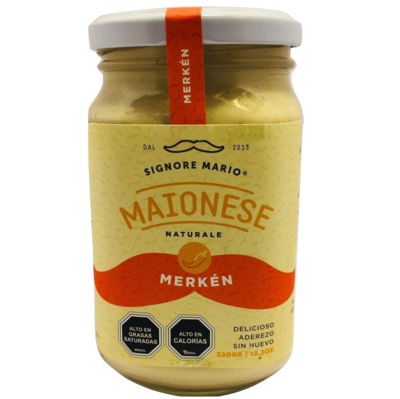Mayonesa Vegana Merkén Signore Mario