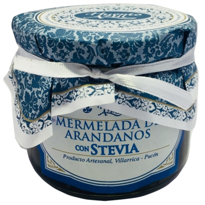 Mermelada Arándanos con Stevia Huerto Azul