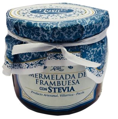 Mermelada Frambuesa con Stevia Huerto Azul