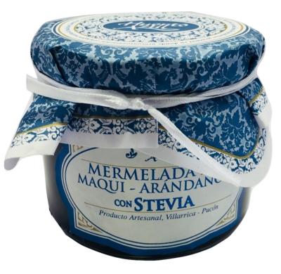 Mermelada Maqui Arándanos con Stevia Huerto Azul