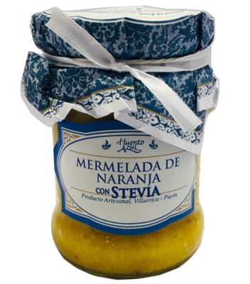 Mermelada Naranja con Stevia Huerto Azul