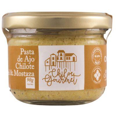 Pasta de Ajo Chilote Miel y Mostaza, Chiloe Gourmet