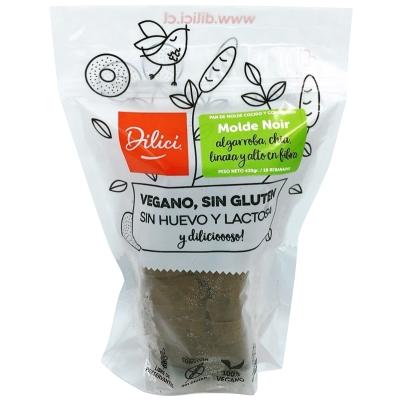 Pan Molde Noir Sin Gluten Dilici