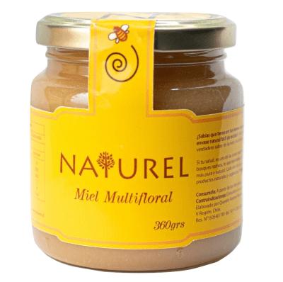Miel Multifloral 360 gr, Naturel