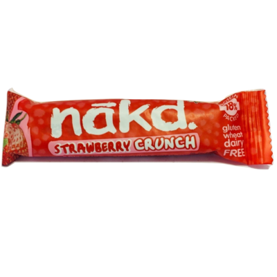 Barra Strawberry Crunch Nakd