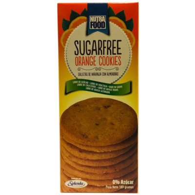 Galletas Sin Azúcar de Naranja Nutrafood