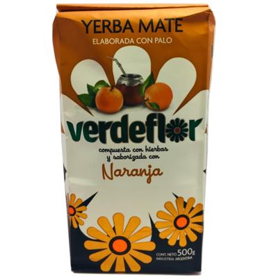Yerba Mate Naranja Verdeflor
