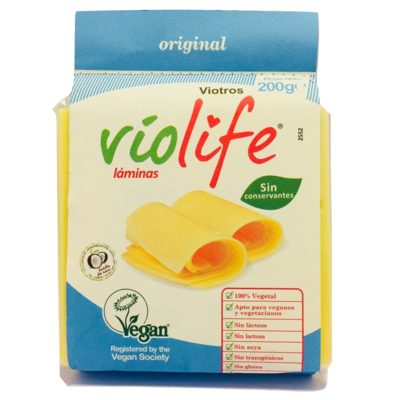 Queso Vegano Láminas Original Violife