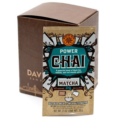 Té Power Chai Matcha (sobre individual) David Rio