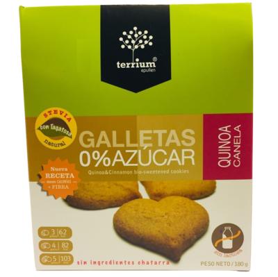 Galletas Quinoa Canela Terrium 180 Gr.