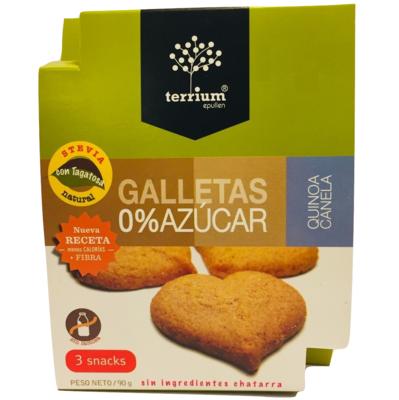 Galletas Quinoa Canela Terrium 90 Gr.