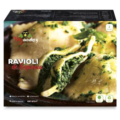 Ravioli Vegetariano Espinaca y Ricotta 690 gr. Vegmonkey