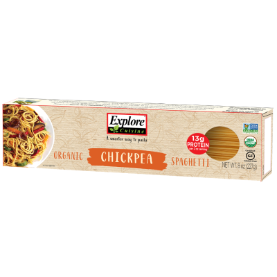 Spaghetti de Garbanzos Explore Cuisine