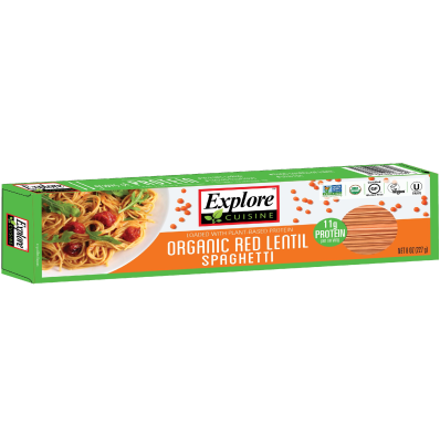 Spaghetti de Lentejas Rojas Explore Cuisine