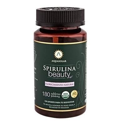 Spirulina Beauty en Tabletas Aquasolar