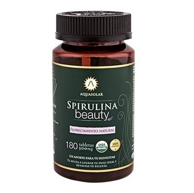 Spirulina Beauty en Tabletas Aquasolar