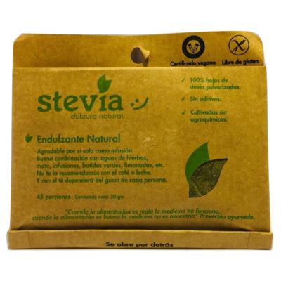 Stevia Hoja Molida Dulzura Natural