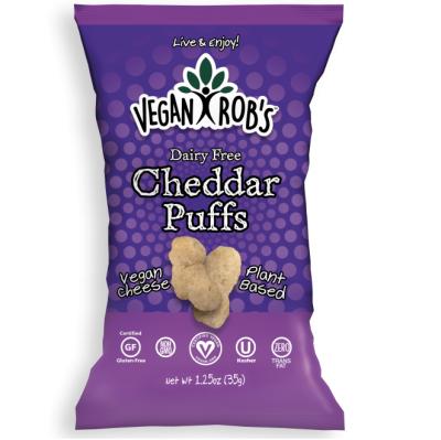 Snack de Queso Cheddar 35.4 gr. Vegan Rob´s