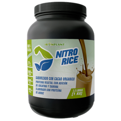 Proteina Nitrorice Iron Plant
