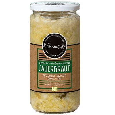 Sauerkraut Tesoros Marinos La Fermentista