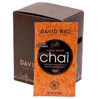 Té Tiger Spice Chai (sobre individual) David Rio