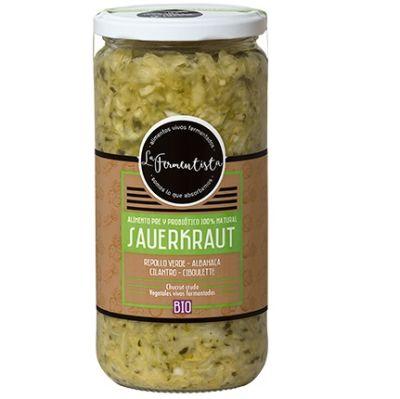 Sauerkraut Verdes Vivos La Fermentista