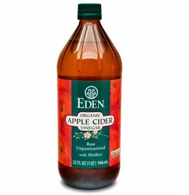 Vinagre de Manzana Orgánico Eden 946 ml