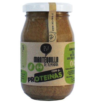 Mantequilla de Almendras + Proteína Es!