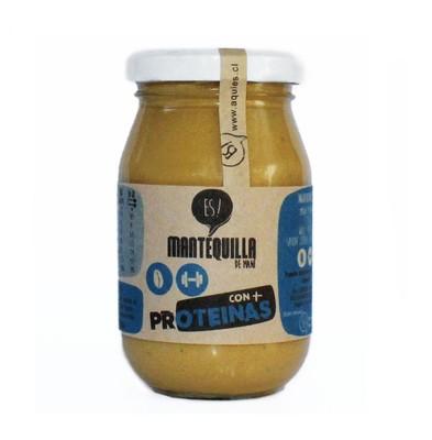 Mantequilla de Maní + Proteína Es!