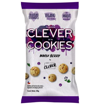 Galletas Maqui Berry Eat Clever