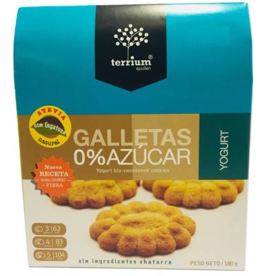Galletas Yogurt Terrium 180 Gr.