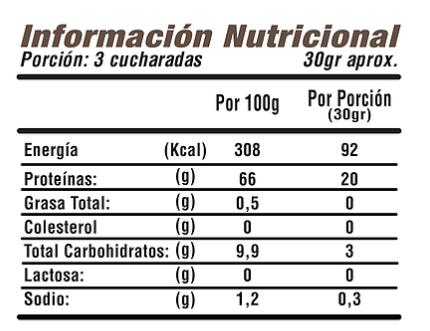 Proteína de Arvejas con Cacao Orgánico Iron Plant